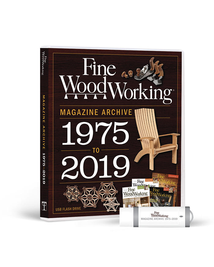 2019 Fine Woodworking Archive (USB)