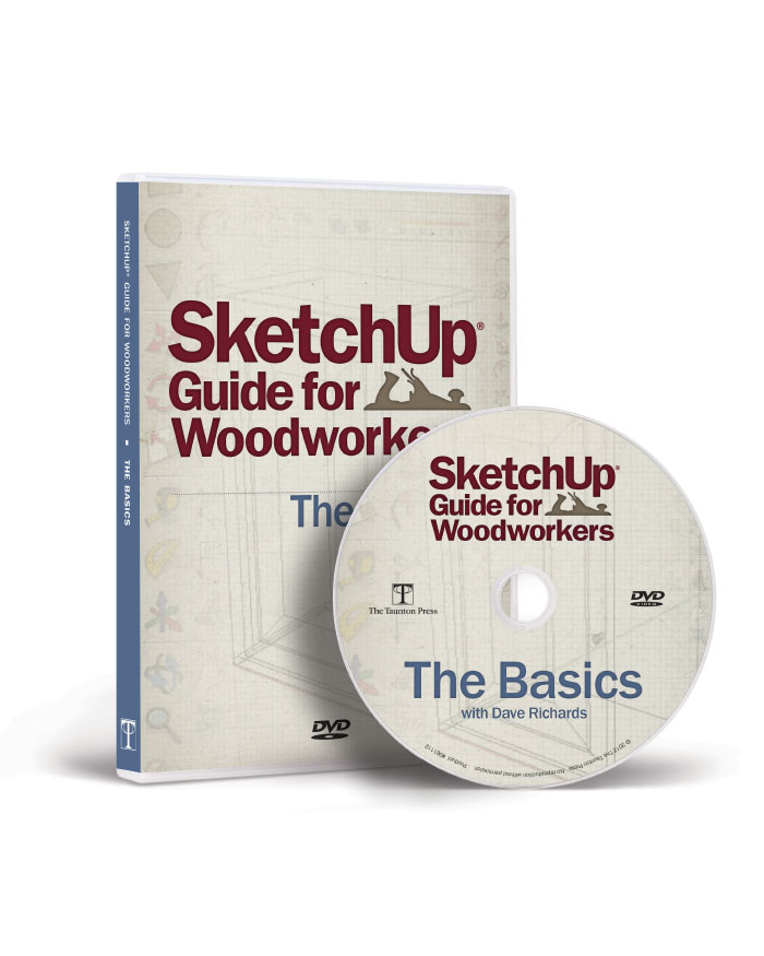 SketchUp® Guide for Woodworkers - The Basics (DVD)