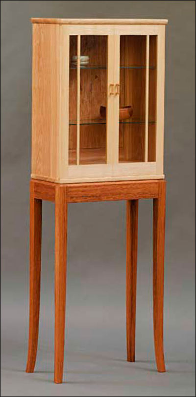 Krenov-Style Display Cabinet (Digital Plan)