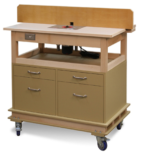 Mobile Router Table (Digital Plan)