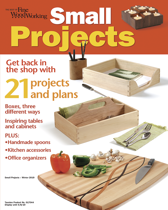 The Best of Fine Woodworking: Small Projects (eBook PDF)