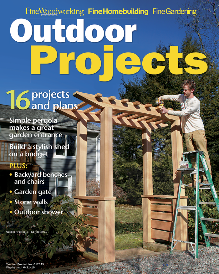 Outdoor Projects - Spring 2019
